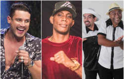 Israel Novaes, show de funk e teatro agitam fim de semana