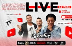 """Grupo Pagode do MT,  """" APRONTAE """" faz sucesso na internet com Live de 02 horas."""