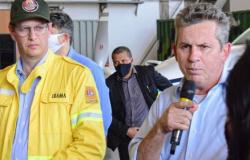 Em MT, ministro diz que destinou R$ 10 mi para combater incêndios