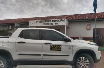 Naco e Gaeco cumprem mandados contra prefeito e empresas por fraude em contratos de informática