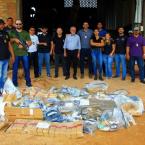 Polícia Civil incinera mais de 300 quilos de entorpecentes em Sinop