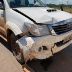 Acidente envolvendo quatro veículos é registrado na MT-208 entre Carlinda/Alta Floresta