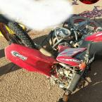 MT-208: Homem morre e outro fica ferido em batida entre motos em Nova Monte Verde.