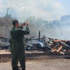 hauahuahauhauhauahhauhauahuahuahauhuIgreja é consumida pelas chamas em Nova Bandeirantes