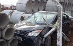 Alta Floresta: Condutora perde controle de veículo e provoca acidente na MT - 208