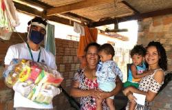 Conexão Solidária entrega mais de 750 kg de alimentos, 200 máscaras e 30 litros de álcool em gel a famílias de baixa renda em Alta Floresta