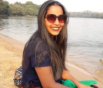 Gabrielly da Silva Coelho Oliveira, de 21 anos, foi morta pelo marido em Nova Xavantina (MT) — Foto: Redes sociais