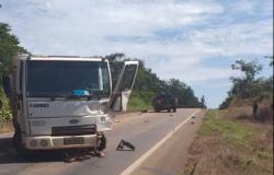 Nova Canaã: Choque frontal entre veículos é registrado na MT-320