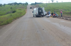 Nova Monte Verde: Motociclista tem pé amputado em acidente de trânsito na MT-208