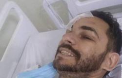 Agente prisional ferido após acidente com viatura na BR-163 segue internado em Cuiabá