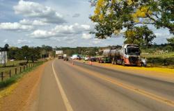 Colíder: Colisão frontal entre motocicleta e caminhão tanque termina em morte na MT-320