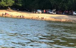 Corpo de Bombeiros de Alta Floresta atende ocorrência de afogamento no rio Teles Pires
