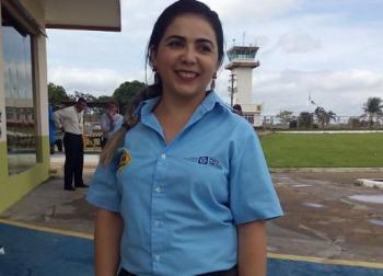 Foto: Nativa News/ Maksaíla no Aeroporto de Alta Floresta
