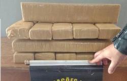 Cabo da PM de Mato Grosso é preso com sete quilos de maconha em rodovia no MS