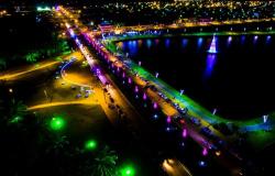 Luzes de Natal em Matupá são destaque em toda a região Norte