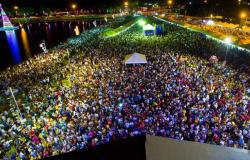 Milhares de pessoas compareceram no Réveillon em Matupá