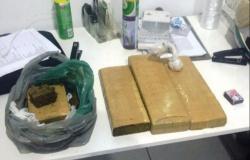 PM apreende 3,5 quilos de maconha que iria ser entregue em Matupá