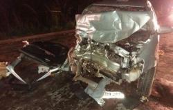 Acidente mata 4 adultos e 1 criança na  MT-010, estrada que liga Cuiabá ao Distrito da Guia