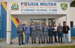 Prédio do 4º Pelotão da Polícia Militar de Paranaíta é inaugurado