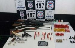 Mais de 300 munições são apreendidas em Matupá