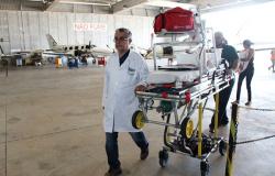 Serviço de UTI aérea ajuda a salvar vidas em todas regiões do Estado