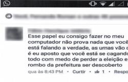 Internauta é processado por criticar ex-prefeito no Facebook
