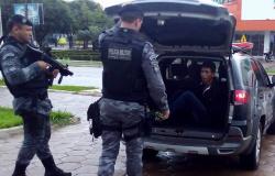 """Equipe da Força Tática de Alta Floresta prende foragido do Presídio """"Mata Grande"""""""