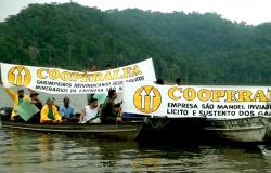 Alta Floresta: Durante manifesto, garimpeiros denunciam descaso da usina São Manoel