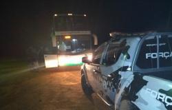Alta Floresta: Passageiro de ônibus é detido 04 tabletes de maconha na MT-208