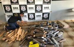 Nova Mutum: Polícia Civil e PRF apreendem 372 tabletes de maconha em veículo roubado
