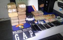 Família é detida sob acusação de venda de drogas em Sinop