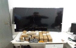 Mais de 20 quilos de drogas são apreendidos pela PM em residência de Sorriso