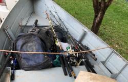 Duas pessoas são detidas com quase 100 kg de peixe perto de barragem de usina em Sinop
