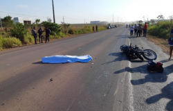 Acidente com vitima fatal é registrado na Madruga deste sábado 11 na BR 163 em Matupá