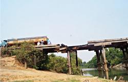 Secretaria interdita tráfego após identificar risco de desabamento em ponte na MT-208