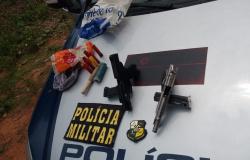 PM de Colíder prende envolvido em assalto à residência