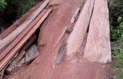 Alta Floresta: Assentamento em risco de ficar isolado, estradas e pontes estão precárias