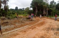 Tráfego é liberado em estrada que liga Nova Monte Verde-Nova Bandeirantes