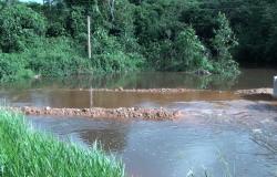 Nova Monte Verde: Obras de ponte provisória sobre o rio Corgão devem iniciar nesta semana