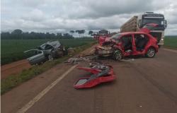 PM e mais cinco ficam gravemente feridos em acidente em MT