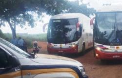 Mais três ônibus são apreendidos por transporte irregular no Mato Grosso