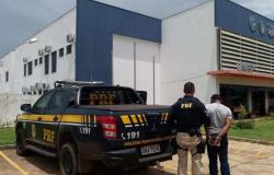 Assaltante foragido é preso pela PRF na BR-364