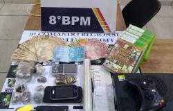 Dois são detidos por tráfico de drogas em Alta Floresta