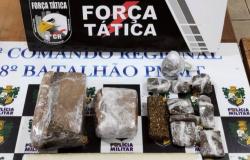 Trio é detido suspeito de tráfico de drogas em Alta Floresta