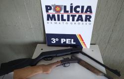 Nova Monte Verde: Três homens são detido por posse e comércio ilegal de arma