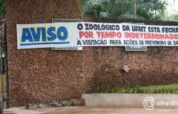 Fechado há dois meses, Zoológico da UFMT não tem previsão para ser reaberto