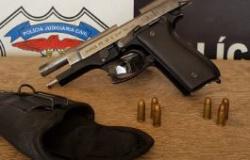 Suspeito de furto de gado é preso em posse de arma de fogo em Cotriguaçu