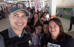 Alta Floresta: PROERD participa da festa junina na escola Jardim das Flores