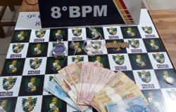 Jovens de 18 e 20 anos são detidos em Alta Floresta por tráfico de drogas