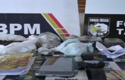 Quatro são presos e uma menor é apreendida por tráfico de drogas em Alta Floresta